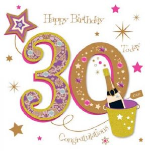 40+ Best Happy 30th Birthday Wishes (Quotes, Status, Greetings, Messages) 9