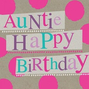 Aunt Birthday Wishes images