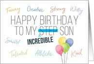 40+ Best Happy Birthday Stepson Wishes (Quotes, Status, Greetings, Messages) 3