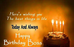 40 Best Happy Birthday Boss Status Wishes Quotes Greetings Messages December 2020