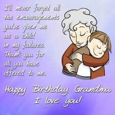 #40+ Best Happy Birthday Grandma Status Wishes (Quotes, Greetings, Messages) 4