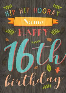 #40+ Best Happy 16th Birthday Status Wishes (Quotes, Status, Greetings, Messages)  3