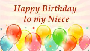 #45+ Best Happy Birthday Niece Status Wishes (Greetings, Messages) 2