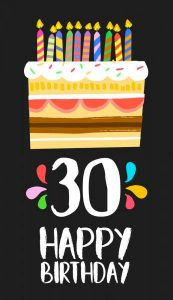#40+ Best Happy 30th Birthday Status Wishes (Quotes, Greetings, Messages)  5