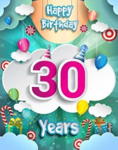 #40+ Best Happy 30th Birthday Status Wishes (Quotes, Greetings, Messages) 2
