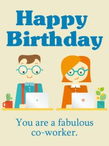 #40+ Best Happy Birthday Colleagues Status Wishes (Quotes, Greetings, Messages)  1