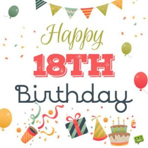 #40+ Best Happy 18th Birthday  Status Wishes (Quotes, Greetings, Messages)  5