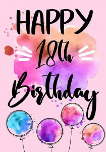 #40+ Best Happy 18th Birthday  Status Wishes (Quotes, Greetings, Messages)  2