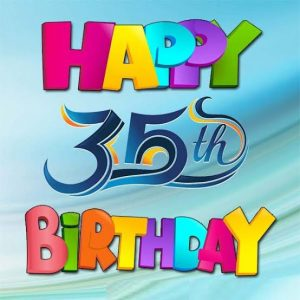 #40+ Best Happy 35th Birthday Status Wishes (Quotes, Greetings, Messages)  3