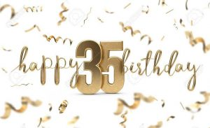 #40+ Best Happy 35th Birthday Status Wishes (Quotes, Greetings, Messages)  5