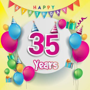 #40+ Best Happy 35th Birthday Status Wishes (Quotes, Greetings, Messages)  1